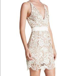Dress the Population Ava Lace Mini Dress